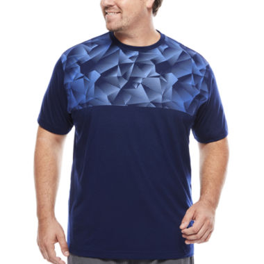 jcpenney.com | The Foundry Supply Co.™ Active Print Tee - Big & Tall