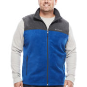 Columbia® Flattop Ridge™ Fleece Vest - Big & Tall