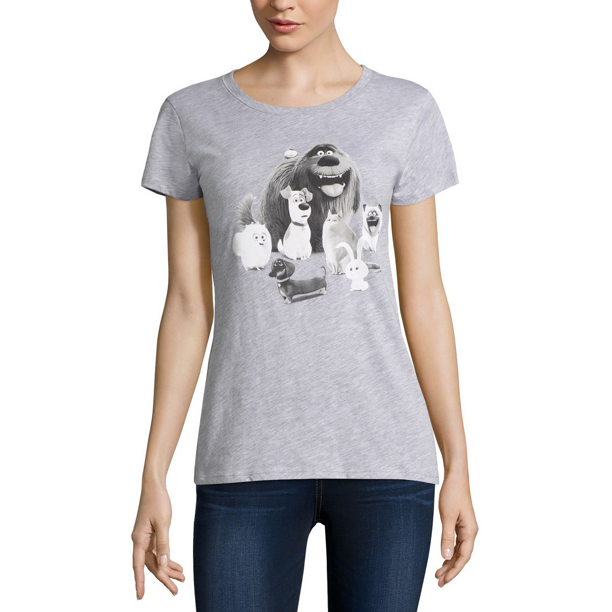 Hybrid Tees T-Shirt - Juniors plus size,  plus size fashion plus size appare