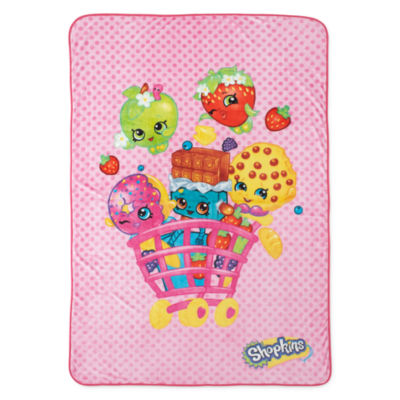 Shopkins Fleece Blanket