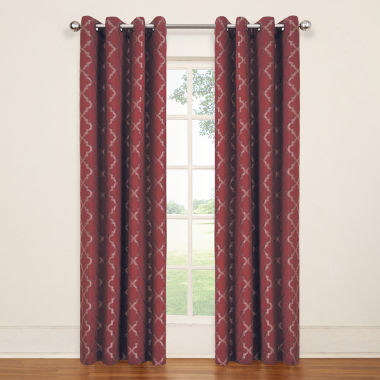 jcpenney.com | Eclipse Tipton  Grommet-Top Curtain Panel
