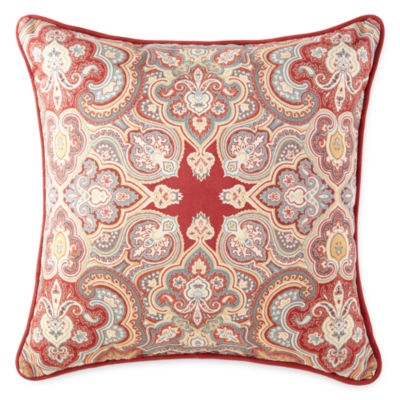 Throw Pillows John Lewis : JCPenney Home Marakesh Square Decorative Pillow - JCPenney