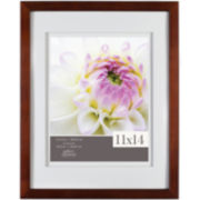 "Gallery Solutions 11x14"" Espresso Frame, Matted To 8x10"""