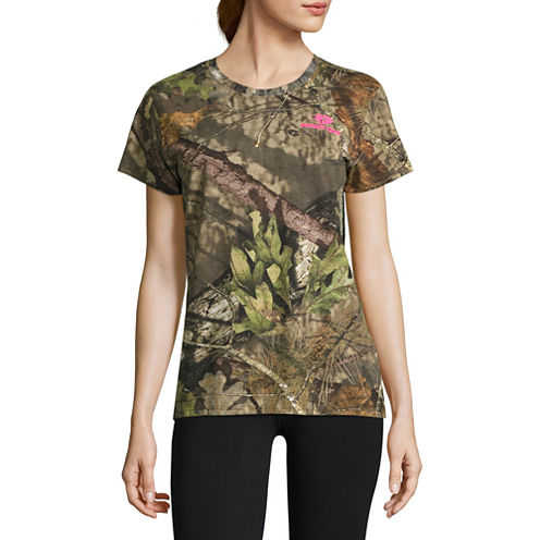 Mossy Oak Short Sleeve Camo Tee