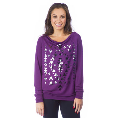 jcpenney.com | PL Movement By Pink Lotus Long Sleeve Sweatshirt