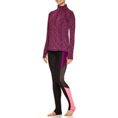 jcpenney.com | Xersion™ Performance 1/2 Zip Pullover, Legging