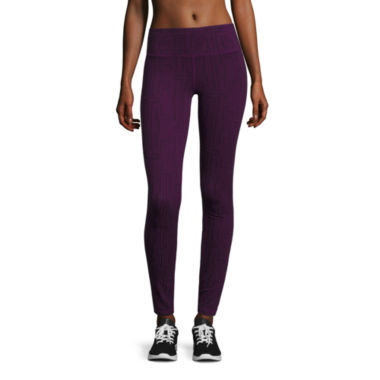 jcpenney.com | Xersion™ Talls Printed Cotton Legging - Tall