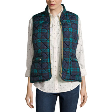 jcpenney.com | St. John's Bay® Quilted Puffer Vest
