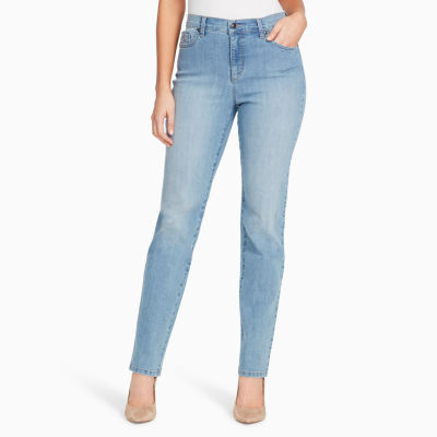 Gloria Vanderbilt Womens Straight Leg Jean Petites Short Jcpenney