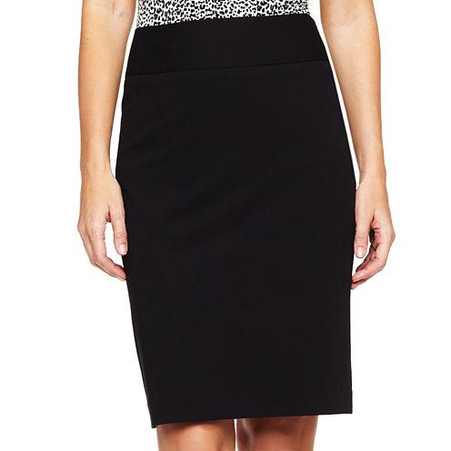 Liz Claiborne® Essential Pencil Skirt - Tall