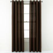 Studio™ Leaves Grommet-Top Curtain Panel