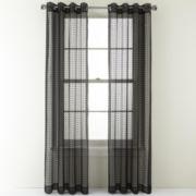 Studio™ Shifts Burnout Grommet-Top Curtain Panel