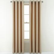 Studio™ Shifts Jacquard Grommet-Top Curtain Panel