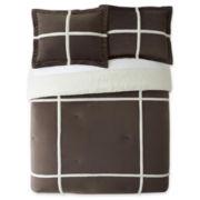 Premier Comfort Mink-Berber Down-Alternative Comforter Set