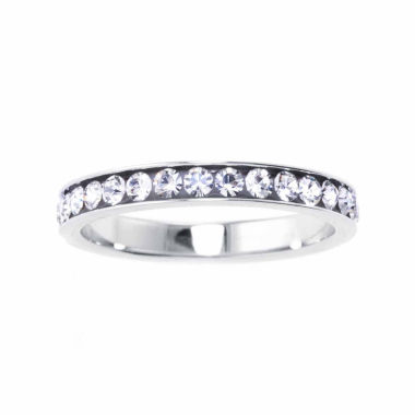 jcpenney.com | Silver Treasures Womens Crystal Sterling Silver