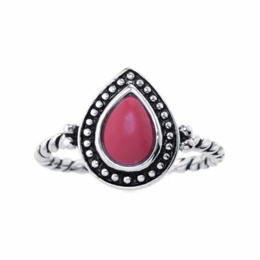 jcpenney.com | Silver Treasures Womens Red Sterling Silver