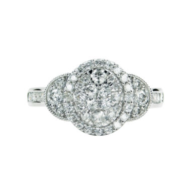 jcpenney.com | LIMITED QUANTITIES! Womens 1 CT. T.W. Round White Diamond 10K Gold Engagement Ring