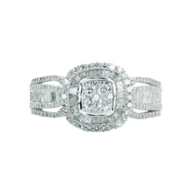 jcpenney.com | Womens 1 CT. T.W. Round White Diamond 10K Gold Engagement Ring