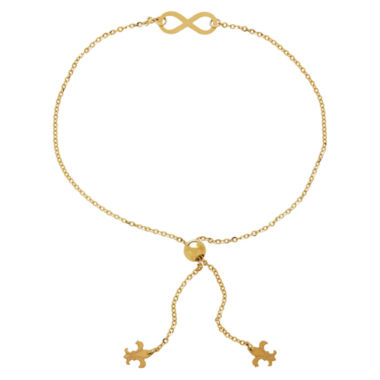 jcpenney.com | LIMITED QUANTITIES! 14k Yellow Gold Infinity Adjustable Bracelet