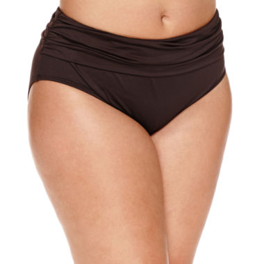 jcpenney.com | a.n.a Solid Hipster Swimsuit Bottom-Plus