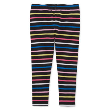 jcpenney.com | Okie Dokie Stripe Denim Leggings - Toddler
