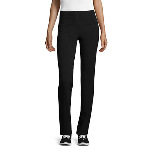 Made For Life Active Knit Workout Pants Petites