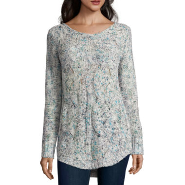 jcpenney.com | St. John's Bay® Cozy Cable Sweater