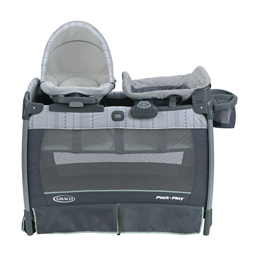 Graco® Pack 'n Play® Playard with Nuzzle Nest™ Sway Seat - Mason