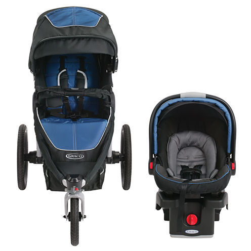 Graco® Relay Performance Jogger Travel System - Jaguar