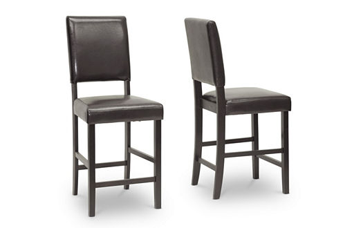 Baxton Studio Love Counter Height 2-pc. Bar Stool