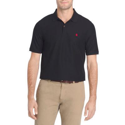 Izod Mens Slim Fit Advantage Performance Solid Polo Shirt Polo Shirt