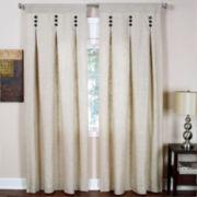 Murano Rod-Pocket/Back-Tab Inverted Pleat Curtain Panel