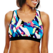 Marie Meili Racerback Crop Top Sports Bra