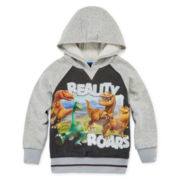 Disney Apparel by Okie Dokie® Good Dinosaur Fleece Hoodie - Toddler Boys 2t-5t
