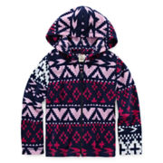 Arizona Comfy Fleece Hoodie - Preschool Girls 4-6x