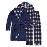 Bunz Kidz 3-pc. Robe and Pajama Set - Toddler Boys 2t-4t