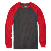 Arizona Raglan Thermal Tee - Boys 8-20 and Husky