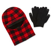 Hat and Texting Gloves Set - Boys 8-20