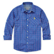 U.S. Polo Assn.® Plaid Shirt - Boys 8-18