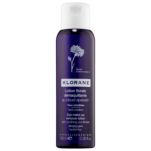 Klorane Eye Make-Up Remover Lotion with Soothing Cornflower