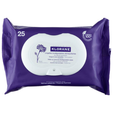 jcpenney.com | Klorane Make-Up Remover Biodegradable Wipes with Soothing Cornflower