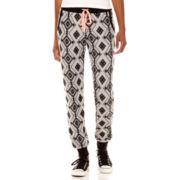 Miss Chievous Aztec Print Jogger Pants