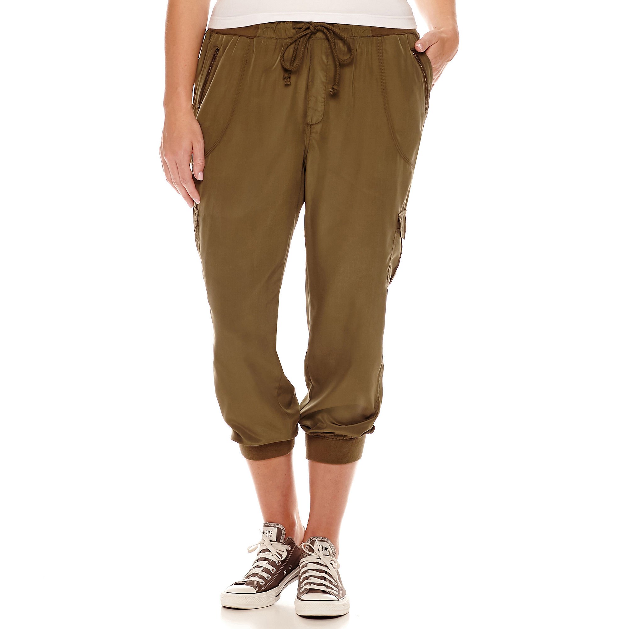Arizona Flight Pants - Juniors Plus plus size,  plus size fashion plus size appare