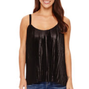 a.n.a® Pleated Tank Top - Petite