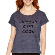 MNG by Mango® Short-Sleeve Sequin T-Shirt