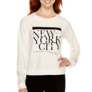 MNG by Mango® Raglan-Sleeve New York City Sweatshirt