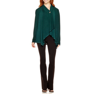 jcpenney.com | Alyx® Button Flyaway Cardigan or Straight-Leg Pants