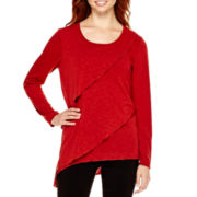 Alyx® Long-Sleeve Tiered Asymmetrical Top