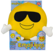 As Seen On TV EmojiKins™ Cool Cat Interactive Plush Toy