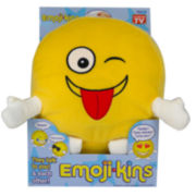 As Seen On TV EmojiKins™ Winky Emoji Interactive Plush Toy